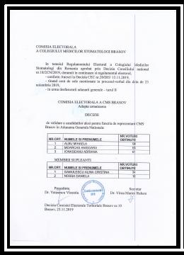Decizia nr 11 locuri candidatura AGN